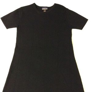 Patagonia Short Sleeve Slip On A-Line Wool Dress